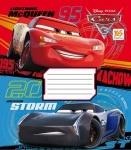"Тетрадь А5/12 листов в клетку ""Cars. Double race"""