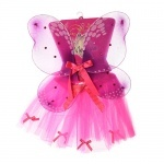 Крылья и юбка карнавальные с бантиками