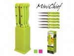 """Ножи кухонные """"Mini-chief"""" 7 предметов набор"""