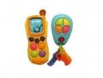 Музыкальная игрушка Телефон с брелоком