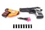 Игрушечный Пистолет с пулями-присосками