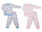 Пижама для девочки с начесом р. 60