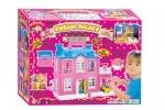 Домик для маленьких куколок 2-этажный