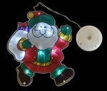 """Наклейка-светильник """"Дед Мороз"""""""