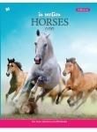 """Тетрадь А4/48 листов в клетку """"Horses Motion"""""""