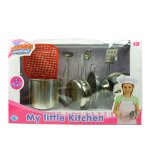 Детский металлический кухонный набор