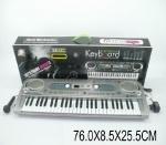 Музыкальный синтезатор от сети с микрофоном