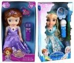 """Кукла """"Frozen/Sofia"""" в светящемся платье"""