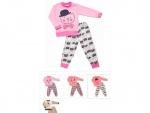 Пижама для девочки р.56 ( рост 80см-86см)