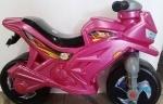 Детская Каталка мотоцикл, зеленый, сиреневый