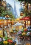 """Пазлы Касторленд 1000 """"Весенние цветы, Париж"""""""