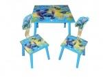 Детский столик со стульчиками Лило и стич