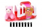 Мягкая игрушка Собачка с будкой