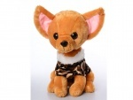 Мягкая игрушка собачка, размер средний
