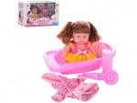 Кукла с ванночкой