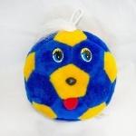 Мячик с глазками сине-желтый