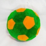 Мячик зелено-оранжевый