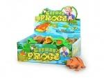 Игрушка резиновое животное лягушка, (блок)
