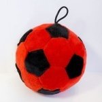 Мячик красно-черный