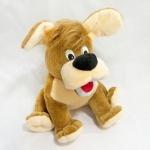 Собака Тузик маленькая коричневая