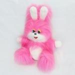Заяц Пушок розовый