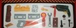 Набор инструментов чемодане