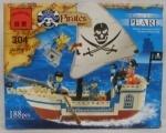 Конструктор Пиратская шхуна ТМ Brick