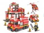 Конструктор Пожарный учаток ТМ Sluban