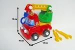 Машина-конструктор Кузя (3 вида в асс.)