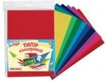 Набор цветная бумага глянц. А 4 (12л/12цв) п/э