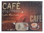 """Конверт на кнопке А4 """"Coffee break"""" L5708"""