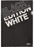 """Уголок А4 """"Black Edition"""" белый L5601"""