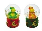 """Сувенир """"DRAGON"""" 4,5 см в прозрачном шаре, в ассортименте: 2 вида"""