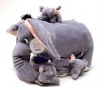 Слоник со слонятами