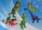 Надувной Динозавр