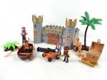 Замок  пиратов,  световые эффекты