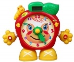Часы обучающие с жк дисплеем Яблоко JoyToy
