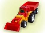 Трактор с прицепом Бамсик