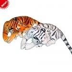 Тигр с тигренком мягкая игрушка