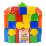 """Игровой набор с кубиков """"Замок конструктор"""" 26 деталей"""