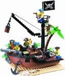 Конструктор Брик Пиратская шхуна