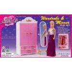 Мебель для куклы Комод + Зеркало