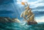 "Castorland: пазл ""Буря""1500эл."