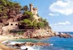 Castorland: пазл 1000эл. Крепость Lloret de Mar, Испания