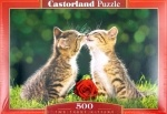 """Castorland: пазл """"Два полосатых котёнка"""" 500 эл."""