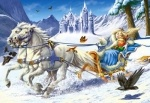 Castorland: пазл сказка Снежная королева 120 эл.