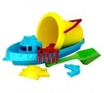 """Игрушка для песочницы """"Кораблик 3"""""""