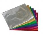Набор цветная бумага метал. А 4 (10л/10цв) п/э
