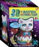 Волшебная 3D аппликация Кошечка
