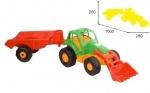 Трактор с прицепом, ТМ Orion
